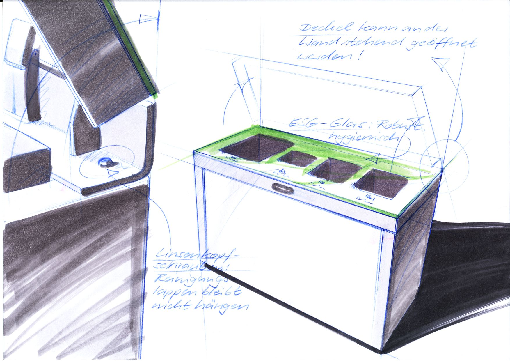 Multilith Design Recyclingstation, Public Waste Bins, Poubelle Recyclage, Recycling Box, Abfalltrenner, Public Waste Bin, Avfallbehälter, Designdoing, Design Thinking